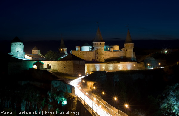 Old castle at Night